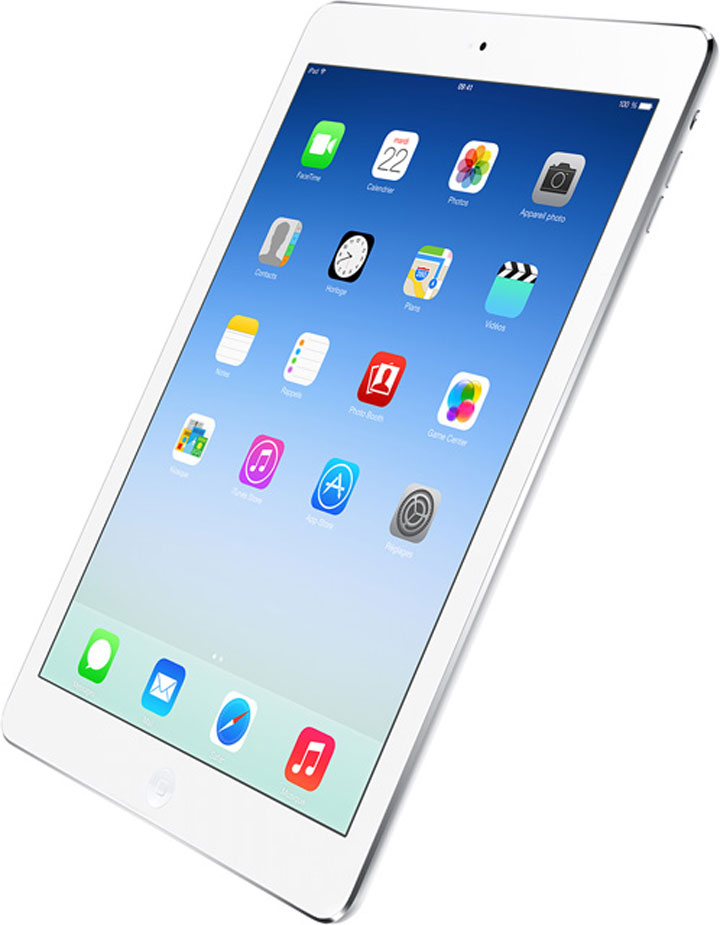 The iPad Air: The Apple's latest product