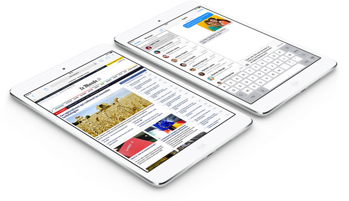 The mini iPad Retina-Apple New Products