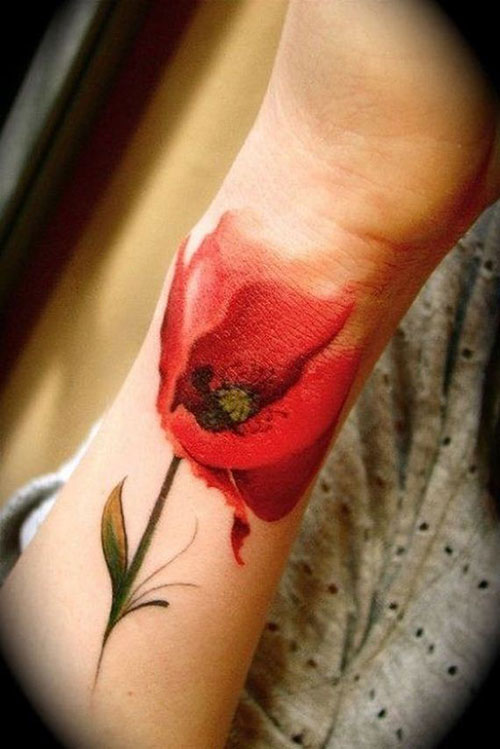 17 beautiful tattoos that look as if painted on the body for Beautiful body tattoo