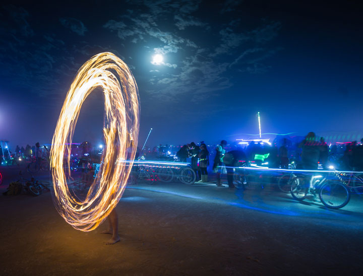 Crazy Moments From The Famous Burning Man Festival Of Nevada