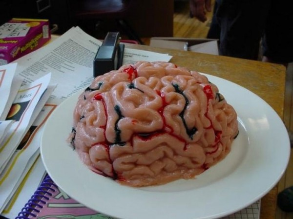 This jelly-like human brains