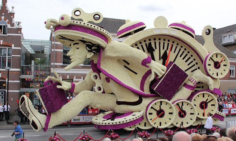 Dutch Flower parade 2014