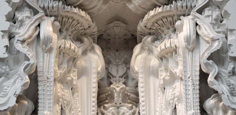 Architectural Feat: A Gigantic Sculpture Made Entirely Using 3D Printing