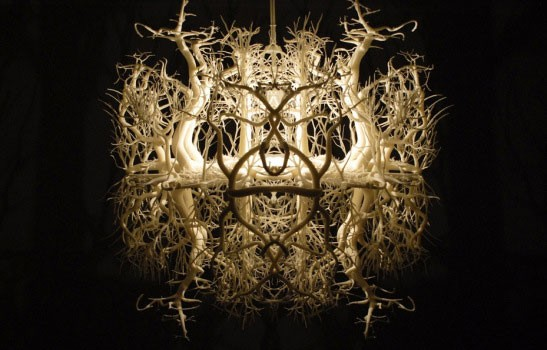 Forest Chandelier Diy: Forest Chandelier Diy Leuchte 26 Kreative Ideen F R Lampen,Lighting