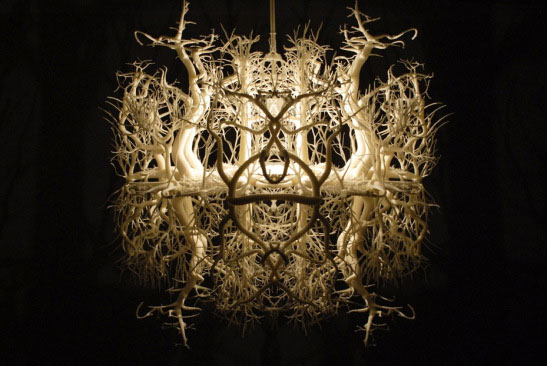 Gorgeous Forest Chandelier 3