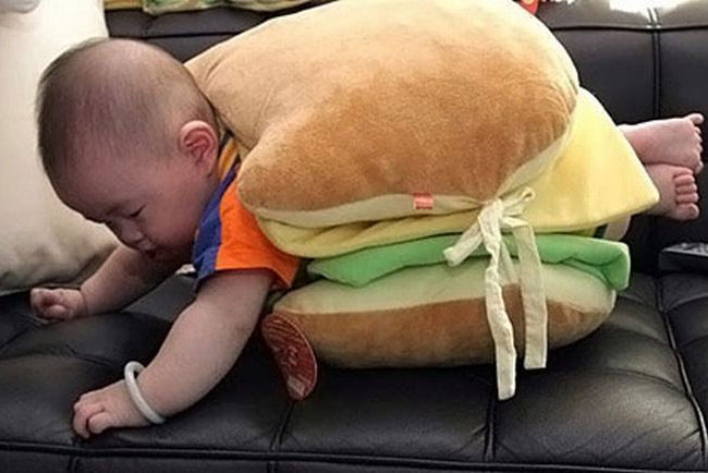 The burger baby