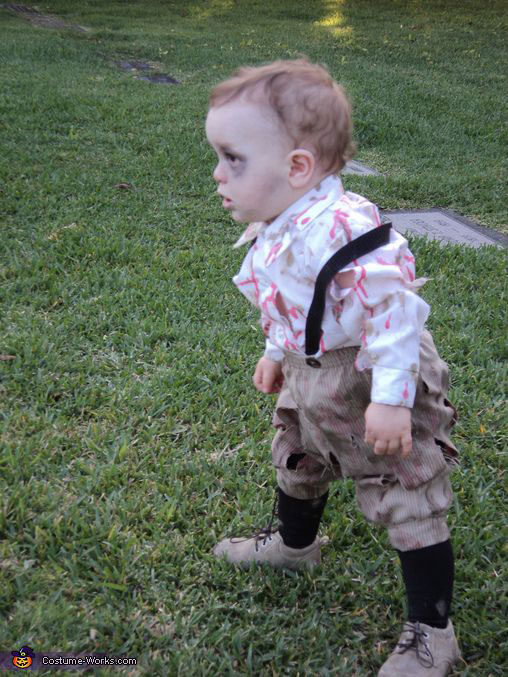 The zombie baby-The Walking Dead