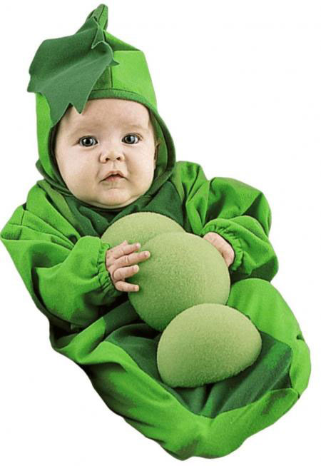 The peas baby