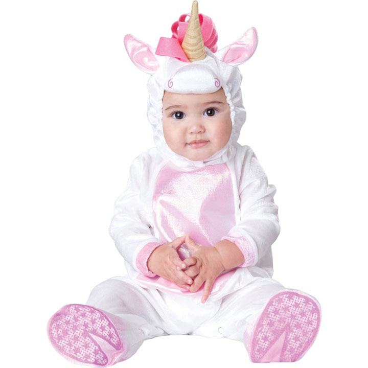 The baby unicorn