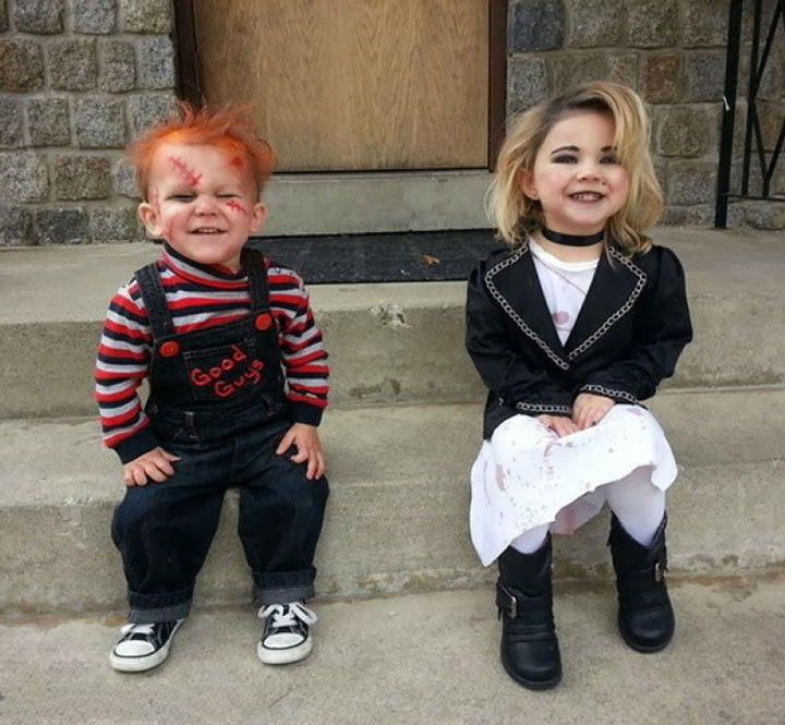 Chucky Baby and his companion
