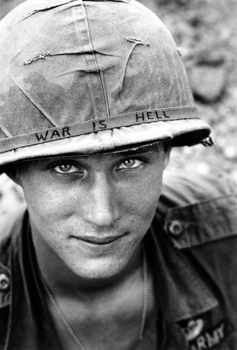 An unknown soldier in Vietnam in 1965