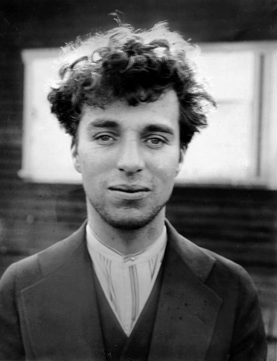 Charlie Chaplin at age of 27 in 1916
