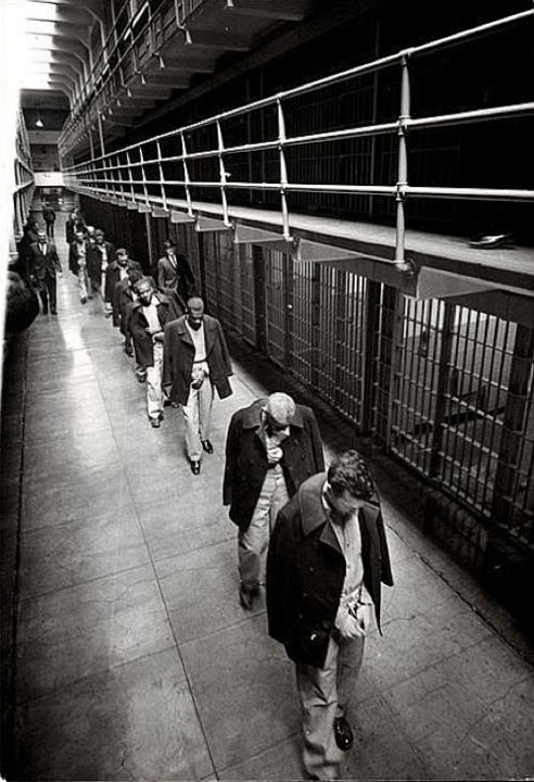 29. The last prisoners of Alcatraz in 1963