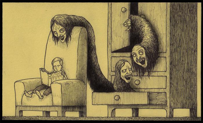 john-vous-emmene-dans-ses-etranges-cauchemars-d-enfance-qu-il-dessine-sur-des-post-it37