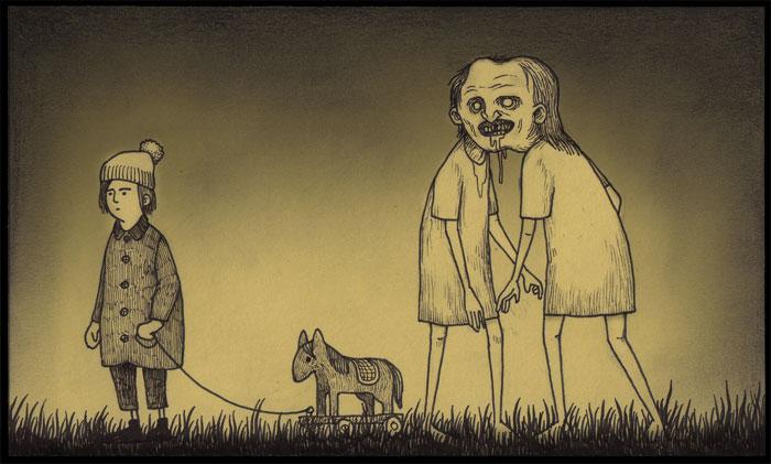 john-vous-emmene-dans-ses-etranges-cauchemars-d-enfance-qu-il-dessine-sur-des-post-it42