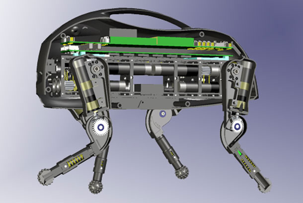 Littledog: The Robot Dog That Can Cross Many Obstacles Without Difficulty From Inside