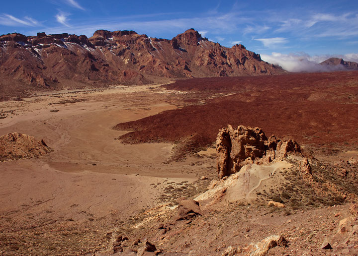 The Teide National Park on Canary Islands