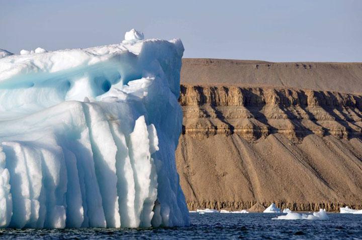 Devon Island in northern Canada