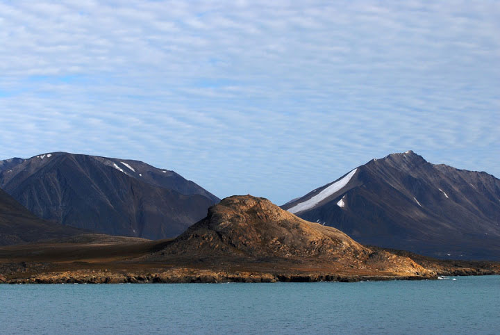 Devon Island in northern Canada