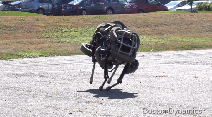 WildCat Boston Dynamics Robot Cat Gallops At 26 Km Per Hr 2