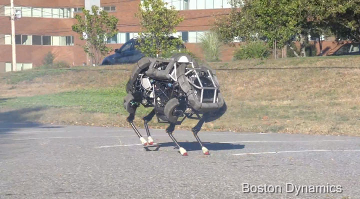 WildCat: The Robot Cat Capable Of Galloping 26 Km/h (Video)