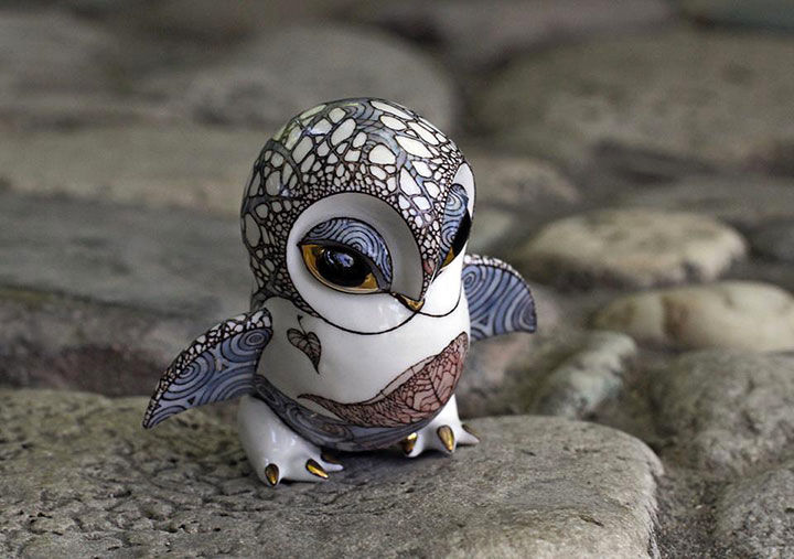 An Artist Couple Makes Beautiful Porcelain Creatures That Will Charm You