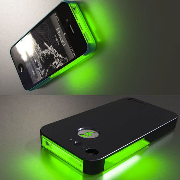 The iPhone neon shell for clubbers-Irrestible iPhone Cover Designs