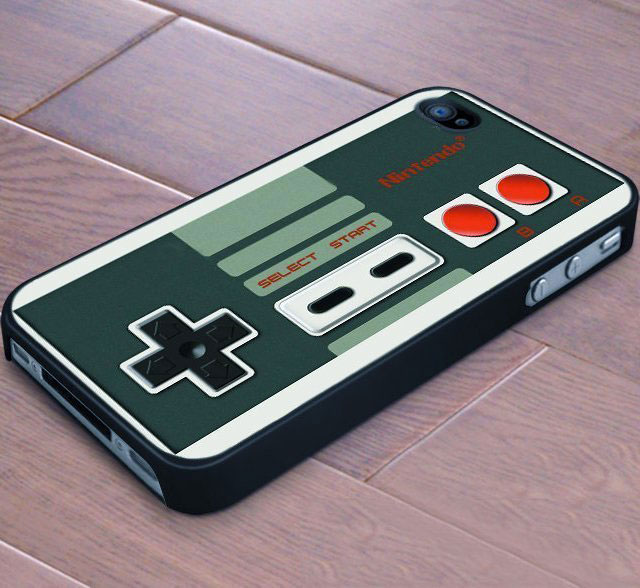 The NES controller shell for a nostalgic geek-Irrestible iPhone Cover Designs