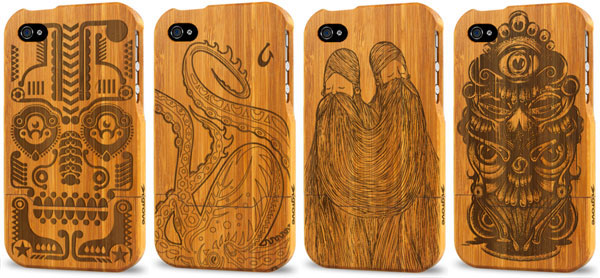 The embroidered wooden cover-Irrestible iPhone Cover Designs
