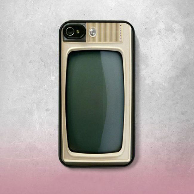 The television cover for fans of the 80s-Irrestible iPhone Cover Designs