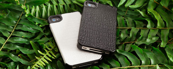 The crocodile skin cover to match the Lady handbag-Irrestible iPhone Cover Designs