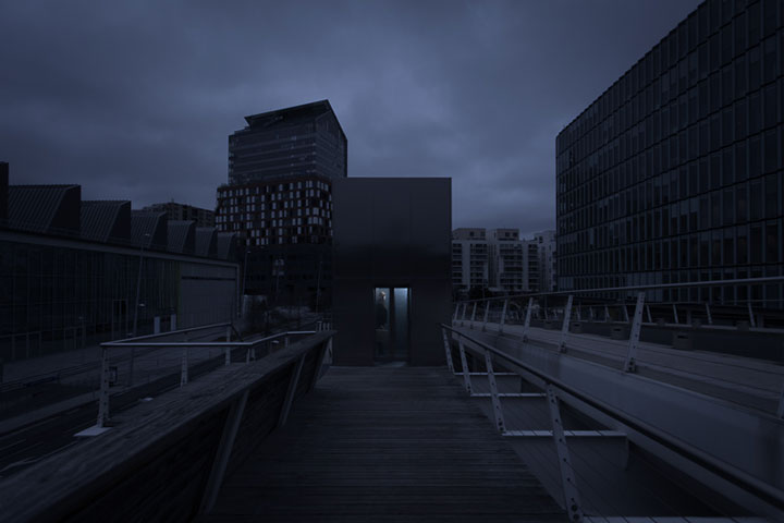 Amazing Photographs Of Cities Swallowed By Darkness With A Ray Of Light Remaining