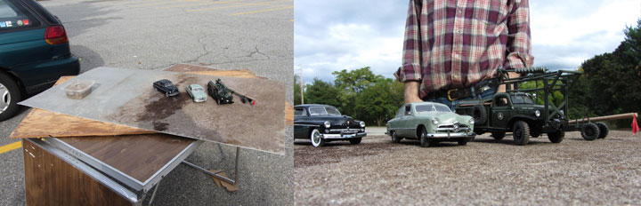 These Ultra-Realistic Photographs Were Taken Using Scaled Car Models