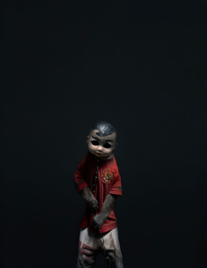 Use Of Monkeys For Forced Begging Denounced By A Series Of Stunning Photographs