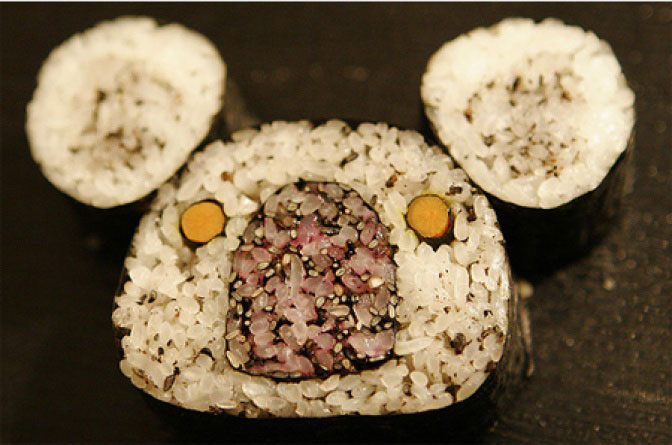Japanese Chief Cook Turns Famous Maki Food Into delicious artworks