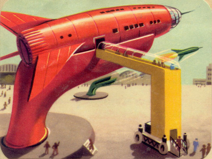 How Did The French Artists Saw The Future In 1950's-20