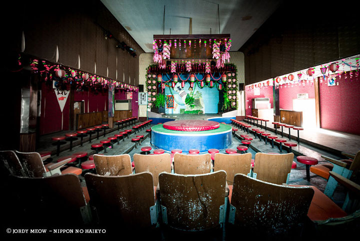 Club striptease Yubara in Okayama-Abandoned Places That Will Remind You Of Forgotten Japan-9