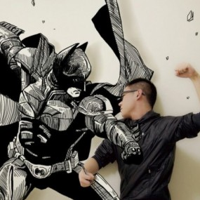 An Artist Gives Life To His Drawings In A Unique Way (Photo Gallery)