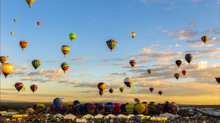 Balloon Festival of Albuquerqe Witness The Soaring Of Hundred Of Beautifu Balloons-2