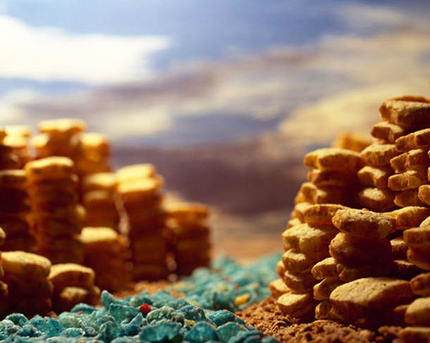 Cerealism-Amazing Artworks And landscapes Created Using Breakfast Cereals-14