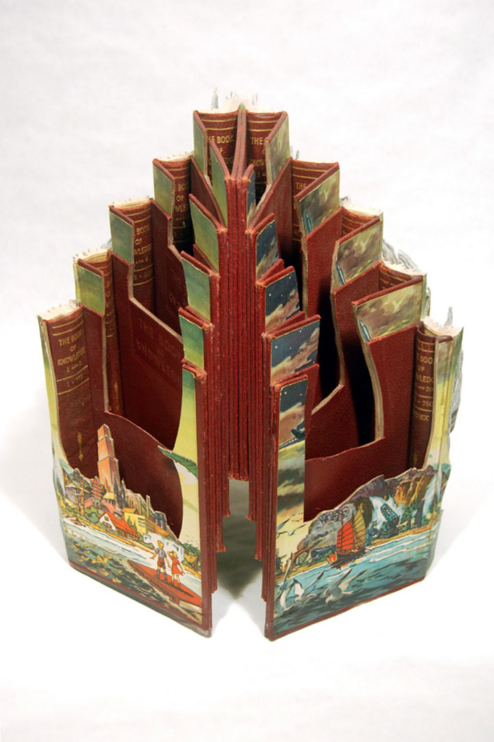 Brian Gives A New Life To Old Books By Carving Them Into Sculptures-25
