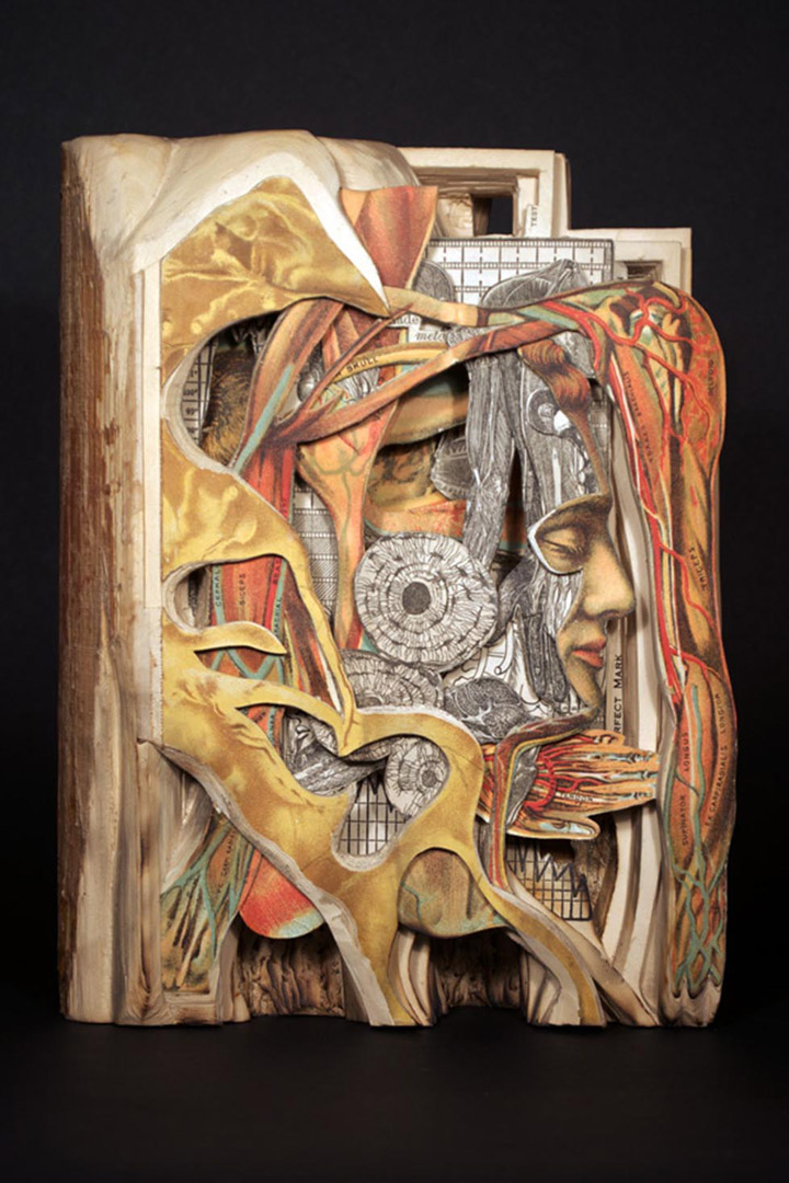Brian Gives A New Life To Old Books By Carving Them Into Sculptures-3