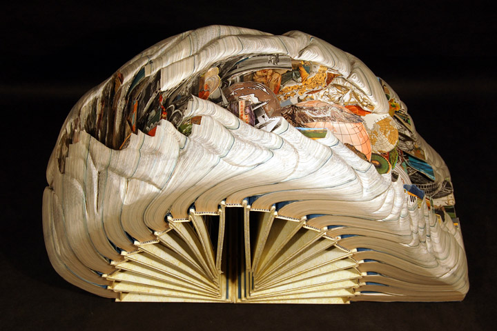 Brian Gives A New Life To Old Books By Carving Them Into Sculptures-7