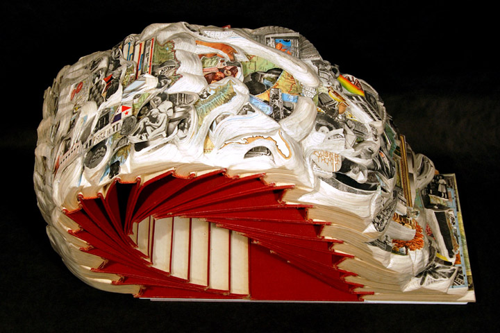 Brian Gives A New Life To Old Books By Carving Them Into Sculptures-8