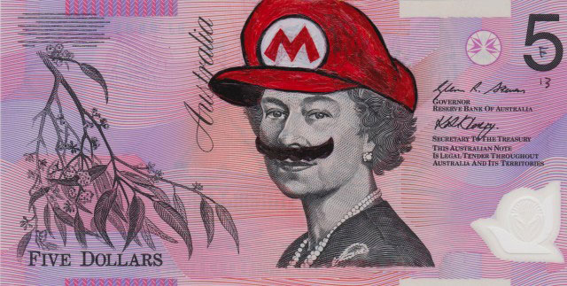 An Artist Makes Hilarious Caricatures Of Queen of England On Australian Dollar -19