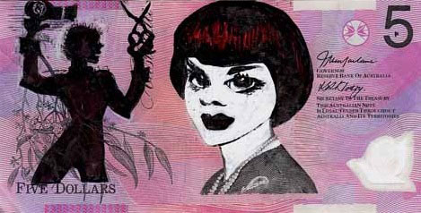 An Artist Makes Hilarious Caricatures Of Queen of England On Australian Dollar -4
