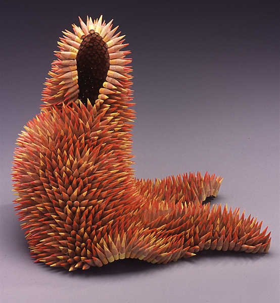 Stunning Nature Inspired Sculptures Made Only Using Pencils-3