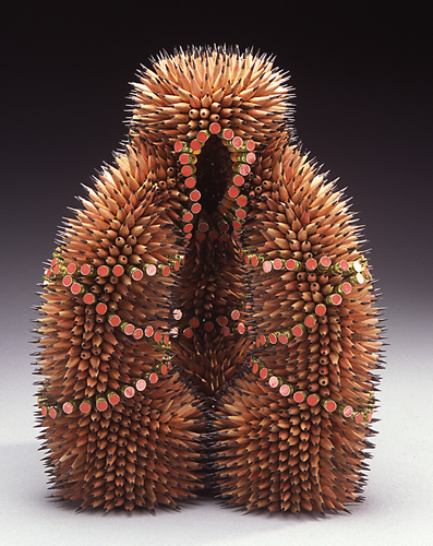 Stunning Nature Inspired Sculptures Made Only Using Pencils-5
