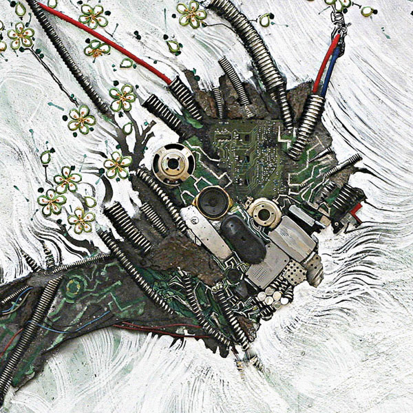 An Artist Blends Traditional Japanese Art With Electronic Circuits-5