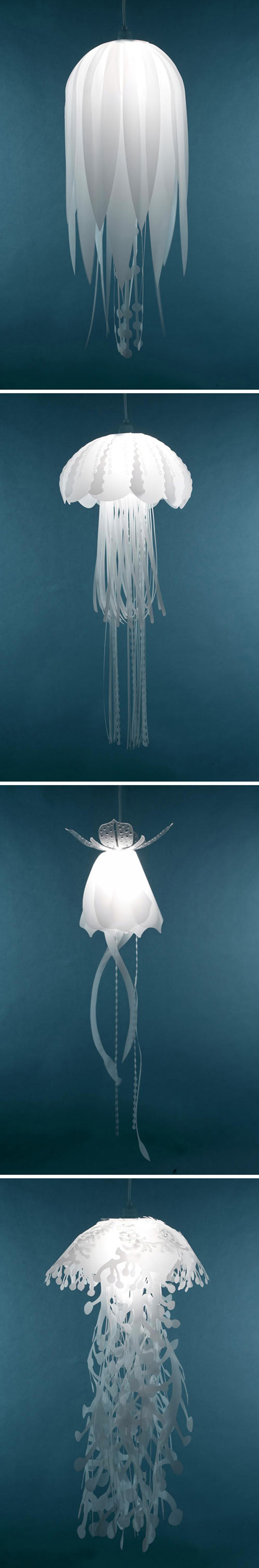 Decorate Your Home With Super Bright Jellyfish Lamps-